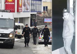 Policie hledá muže, který přepadl hernu v Praze 4.