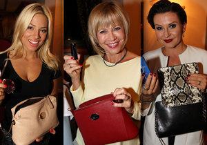 Co nosí v kabelkách Morávková, Švandová a další známé dámy?