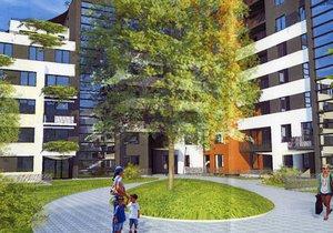 V novostavbách bývalého areálu modřanského cukrovaru budou sociální byty.