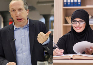 Václav Klaus mladší vyrazil na soud, který řešil nošení hidžábu ve škole (vpravo ilustrační foto).