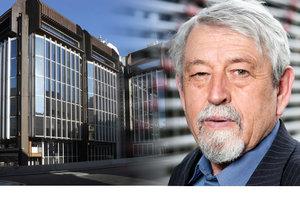 Jedním z architektů budov Transgasu je i Václav Aulický.