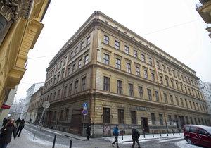 Bývalé sídlo Tuzexu v centru Prahy, které prodal Úřad pro zastupování státu ve věcech majetkových.