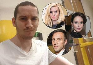 Petrovi s bojem proti rakovině pomáhají i celebrity.