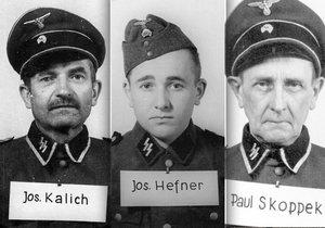 Toto jsou tváře vrahů z Osvětimi. Mezi zrůdnými dozorci byli také Češi.