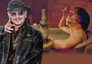 Johnny Depp má měsíční rozpočet 50 milionů korun.