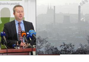 Ministr životního prostředí Richard Brabec (ANO) mluvil o boji se smogem i kotlíkových dotacích.