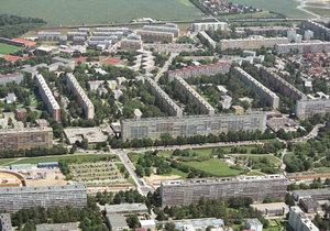Sídliště na Proseku s parkem Přátelství. (ilustrační foto)