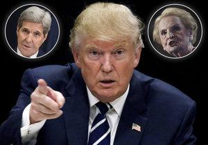 Seznam odpůrců Trumpova dekretu se rozrostl. K žalobě se přidal Kerry i Albrightová.