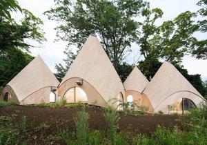 Moderní domov důchodců v japonské Shizuoce
