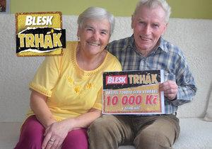 10 tisíc dostal od manželky k narozeninám.