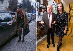 Dáda a Lucie si omylem vybraly stejný outfit.