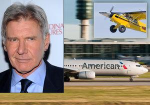Harrison Ford je vášnivý letec a sběratel historických letadel. Nejednou ale havaroval.