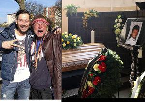 Na pohřeb ústeckého bezdomovce Indiána přišly desítky lidí.