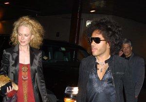 Nicole Kidman přiznala zásnuby s Lennym Kravitzem.
