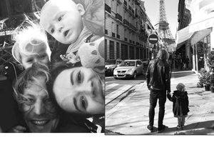 Tomáš Klus vyvezl svoji rodinku na Valentýna do Paříže.