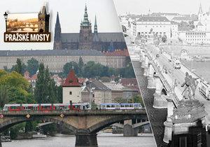 Palackého most vznikl jako třetí most v Praze.