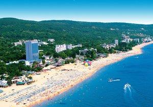 Zlaté písky v Bulharsku