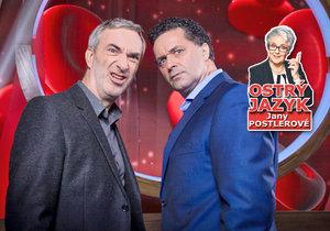 Uvádění nového zábavního pořadu ČT Tajemství těla se zhostili moderátoři Martin Dejdar a Petr Vacek. Jak je hodnotí lektorka Jana Postlerová?