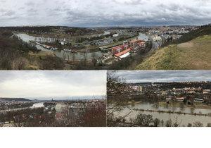 Nádherné pohledy na Prahu se vám naskytnou hned na několika ne zrovna známých místech.