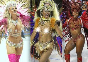 Karneval v Riu de Janeiro 2017