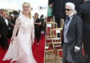 Meryl Streep si za nošení honosných rób nechává platit.