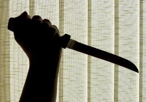 Opilec v Břeclavi chtěl po své partnerce, aby si vybrala nůž, kterým ji má zavraždit. Ilustrační foto.
