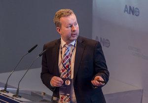 Ministr Richard Brabec na sněmu hnutí ANO