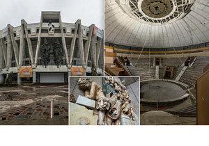 Opuštěný sovětský cirkus v moldavském Kišiněvě