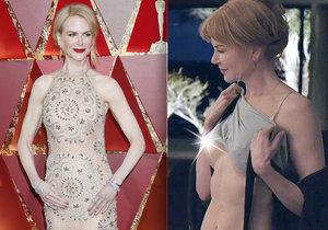 Nicole Kidman ukázala prso.
