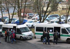 Pražskou policii posílilo 140 lidí z dalších krajů.