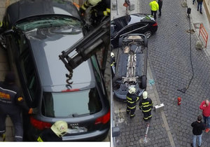Herečka z Ordinace měla autonehodu.