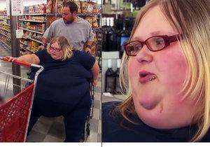 Nicole Lewis váží 317 kilo, s nákupem nezdravého jídla však přestat nedokáže.