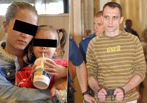 Partnerka nejmladší oběti taxivraha Daniela C. je znovu těhotná.