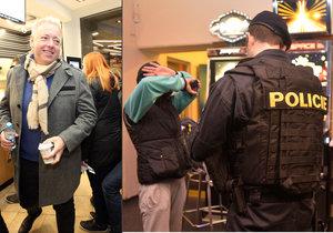 Cizinci bez dokladů a drogy: Chovanec vyrazil s policií do plzeňských barů a heren.