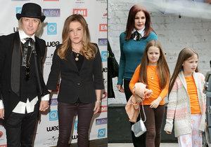 Kvůli rozvodu Lisy Marie Presley a Michaela Lockwooda jsou jejich děti nyní v péči babičky Priscilly Presley.