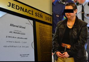 V pondělí proběhlo soudní líčení s vražedkyní Michelle S. (33).
