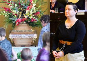 Zmocněnec u soudu s vražedkyní Michelle S. (33) přečetl výpovědi pozůstalých, ve kterých bylo plno zármutku a zoufalosti.