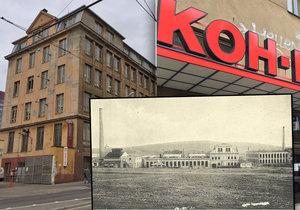 Budova továrny Koh-i-noor ve Vršovicích slouží k výrobě galanterie už od začátku 20. století.