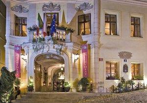 V tomto luxusním hotelu se v 18. století podle pověsti našly kosti telete.
