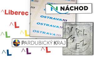 Kontroverzní loga českých krajů a měst