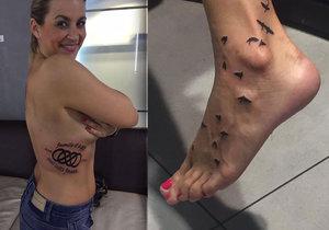 Monika Marešová se pochlubila dalším tetováním.