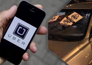 """Uber zase jezdí v Brně: Do ulic se vrátil po """"válce s taxikáři"""" po třech letech"""