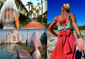 Nevěsta na útěku Pavlína: Na »svatební cestě« kolem světa, ale bez ženicha!