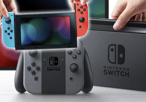 Nintendo Switch je rozhodně nejoriginálnější konzole na trhu.