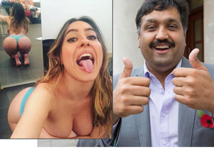 Italská rajda Paola Saulino má zájem o Mohammeda Abada, který má robotický penis.