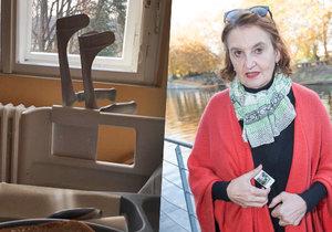 Eva Holubová byla na operaci kolene.