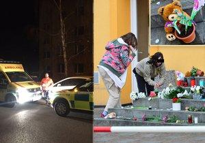 Teprve čtrnáctiletá Kristýnka vypadla z okna paneláku na Kladně, přivolaní záchranáři jí nedokázali už pomoci.