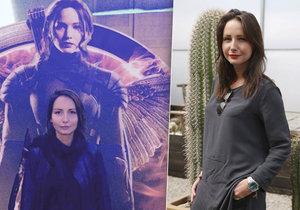 Veronika Arichteva má slavné dvojče.