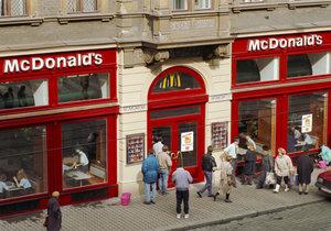 Otevření McDonalds v Praze