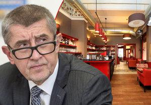 Ministr financí se skryl před novináři v Café Colore